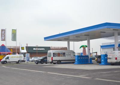 ARAL Tankstelle Brumby