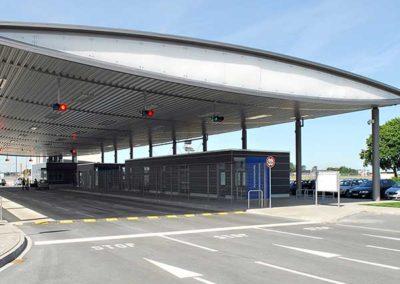 Hauptvorfeldzufahrt Airport Hannover HAJ