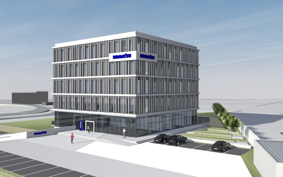 Neubau Hannover Technical Center der Komatsu Germany GmbH in Hannover