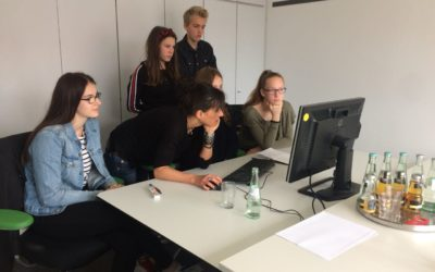 Schüler erhalten Einblicke in die Tätigkeit bei htm.a