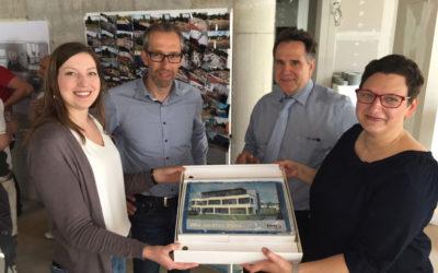 Richtfest für das neue Verwaltungsgebäude des VEA
