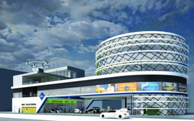 """Das Jahr 2040 – Wie sieht die """"Tankstelle der Zukunft"""" aus"""
