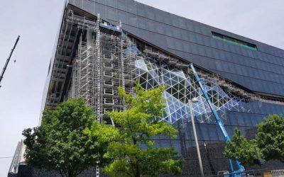 Exkursion zum Axel Springer Neubau
