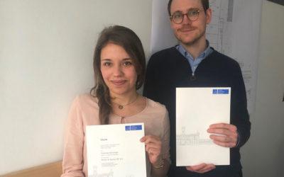 Werkstudenten bei htm.a absolvieren erfolgreich ihr Masterstudium
